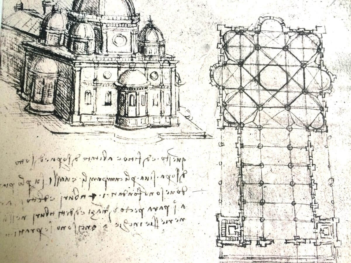 Example of DaVinci's Note Taking